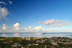 Bella festa sull'isola di Saipan La bella isola di Saipan Fotografie Stock Libere da Diritti