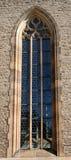 Bella finestra gotica Fotografia Stock Libera da Diritti