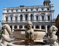 Bella fontana Immagine Stock Libera da Diritti