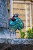 Bella fontana di Zsolnay a Pecs, Ungheria Immagine Stock Libera da Diritti