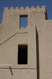 Bella fortificazione di Bahla, Oman immagini stock libere da diritti