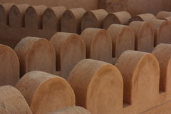 Bella fortificazione di Nizwa, Oman Immagine Stock Libera da Diritti