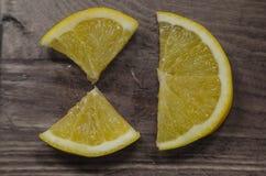 Bella foto di un limone Fotografie Stock