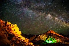 Bella galassia Fotografie Stock Libere da Diritti