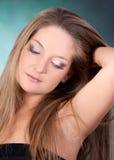 Bella giovane donna Immagini Stock