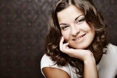 Bella giovane donna. Fotografia Stock