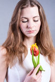 Bella giovane donna fotografia stock libera da diritti