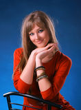Bella giovane donna Immagini Stock Libere da Diritti