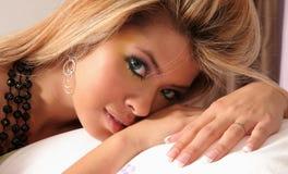 Bella giovane donna Fotografia Stock