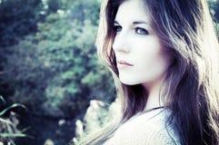 Bella giovane donna Immagine Stock