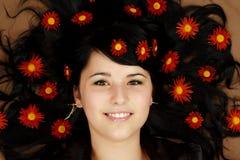 Bella giovane donna Fotografie Stock Libere da Diritti