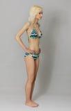 Bella giovane donna in bikini Fotografia Stock Libera da Diritti