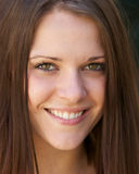 Bella giovane donna in buona salute Immagini Stock Libere da Diritti