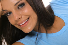 Bella giovane donna del latino Fotografie Stock