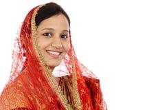 Bella giovane donna musulmana Fotografie Stock