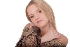 Bella giovane femmina del ritratto in studio immagine stock libera da diritti