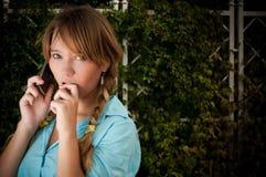 Bella giovane ragazza dell'allievo Fotografia Stock