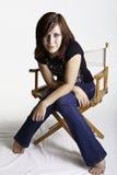 Bella giovane signora Fotografia Stock Libera da Diritti