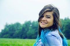 Bella giovane signora Fotografia Stock