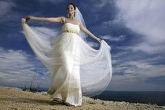 Bella giovane sposa Immagine Stock