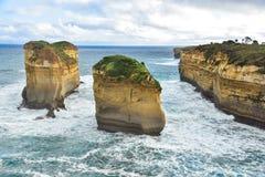 Bella gola di Ard del lago in Australia Fotografia Stock