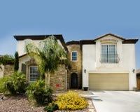 Bella grande nuova casa in Arizona Immagine Stock