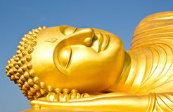 Bella grande statua del Buddha Immagine Stock