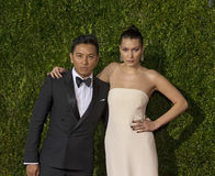 Bella Hadid Arrives em Tony Awards 2015 Foto de Stock
