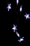 Bella illuminazione di festa Fotografie Stock Libere da Diritti