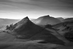 Bella immagine del paesaggio della collina di Parkhouse e della collina di Chrome nella P fotografie stock
