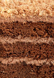 Bella intera torta Fotografia Stock