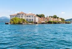 Bella Island ou Isola Bella no lago Maggiore, Stresa, Itália Imagens de Stock Royalty Free