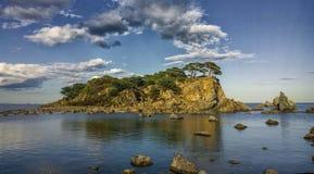 Bella isola Fotografia Stock