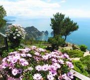 Bella isola di Capri - serie italiana di viaggio Fotografie Stock Libere da Diritti