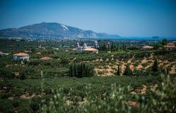 Bella isola di Zacinto fotografie stock