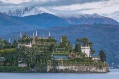 bella isola Italy jeziora maggiore Zdjęcia Royalty Free