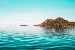 Bella isola in Sulangan, Guiuan fotografia stock libera da diritti