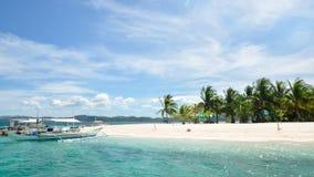 Bella isola tropicale immagini stock