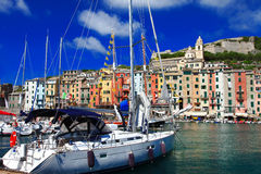 Bella Italia - Ligurian coast Stock Photos