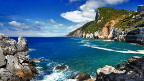 Bella Italia - Ligurian coast Royalty Free Stock Image