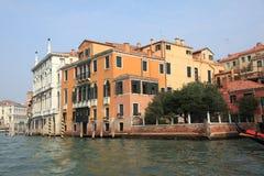 Bella Italia serie. Venedig hus. Arkivfoton