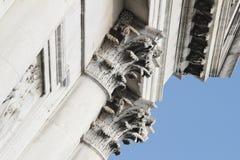 Bella Italia serie. Wenecja kolumnada. Włochy. obrazy royalty free
