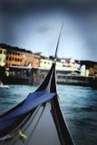 Bella Italia Series. Gondola at Venetian Grande Canal. Italy. Royalty Free Stock Image