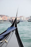 Bella Italia series. Gondola in Venice canal Royalty Free Stock Image