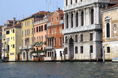 Bella Italia series. Venetian houses. Venice. Royalty Free Stock Image