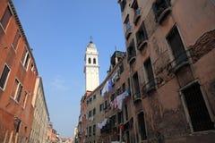 Bella Italia series. Venice homes. Italy. Royalty Free Stock Photo