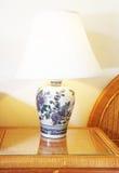 Bella lampada di lato del letto Immagine Stock Libera da Diritti