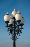 Bella lampada di via Fotografie Stock
