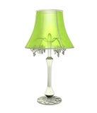 Bella lampada sui precedenti bianchi illustrazione di stock