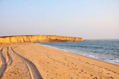 Bella linea costiera dell'Angola Immagini Stock Libere da Diritti